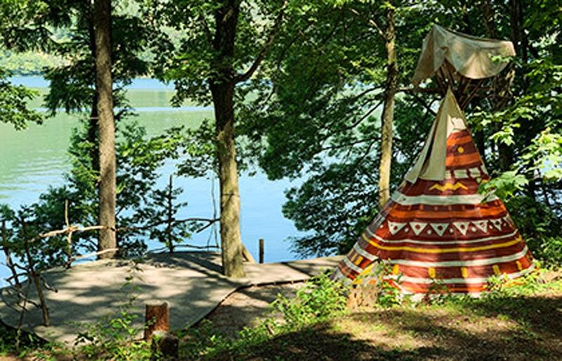 木崎湖POW WOW キャンプ場&アウトドア