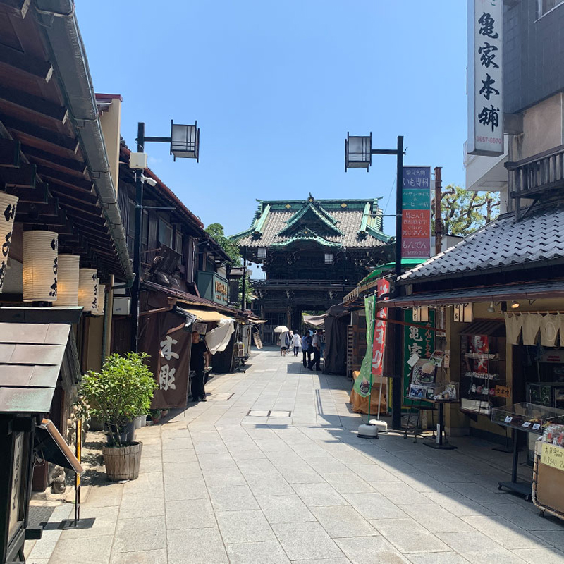 下町散歩×Fishing